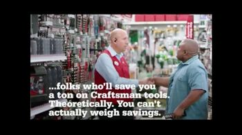 ACE Hardware Craftsman 4th of July Sale TV Spot, 'You Can't Weigh Savings'