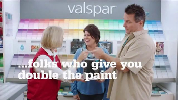 ACE Hardware Valspar Buy One, Get One Free Sale TV Spot, 'Double the Paint' - Thumbnail 2