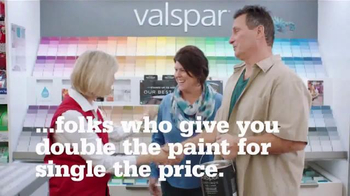 ACE Hardware Valspar Buy One, Get One Free Sale TV Spot, 'Double the Paint' - Thumbnail 4