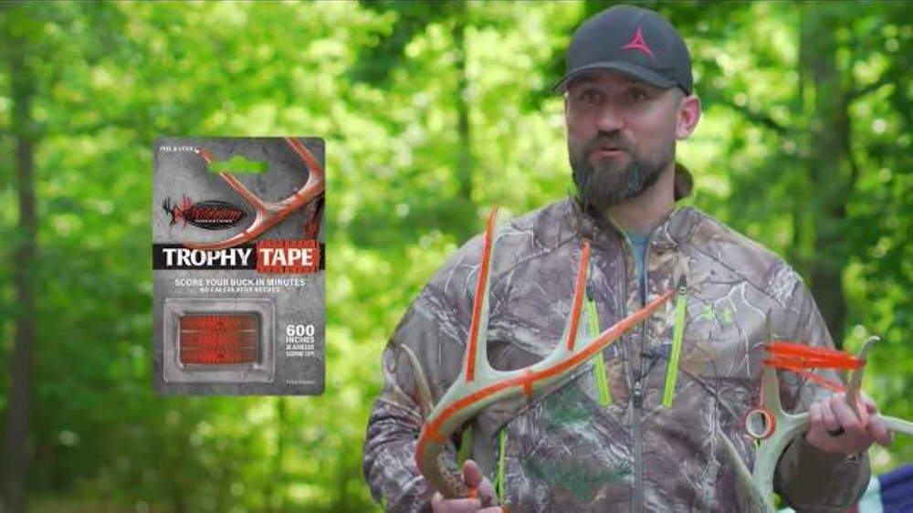 Wildgame Innovations Trophy Tape TV Commercial, 'Lower Score'