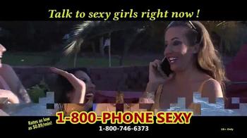 1-800-PHONE-SEXY TV Spot, 'Feel the Heat' - Thumbnail 2