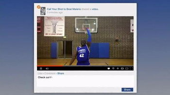 Call Your Shot TV Spot, 'Beat Malaria' Featuring Stephen Curry - Thumbnail 7