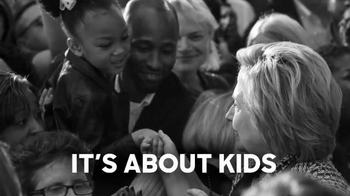 Hillary for America TV Spot, 'It's About Kids' - 1054 commercial airings