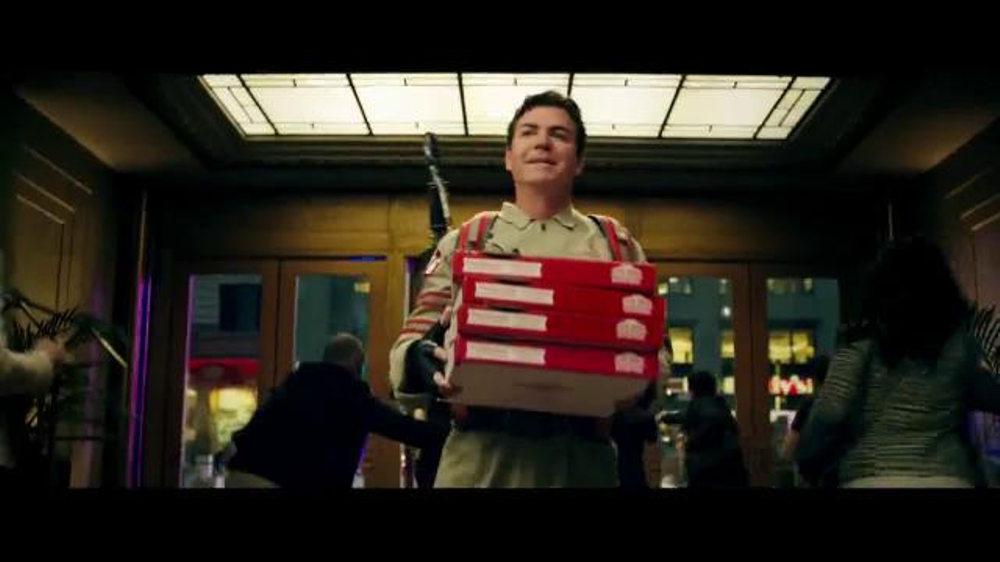 Papa John's Dual Layer Pepperoni TV Commercial, 'Ghostbusters'