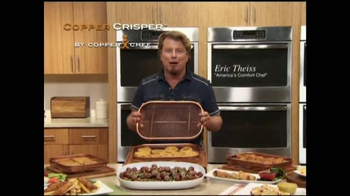 Copper Crisper TV Spot, 'Cook On All Sides'