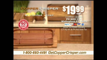 Copper Crisper TV Spot, 'Cook On All Sides' - Thumbnail 9