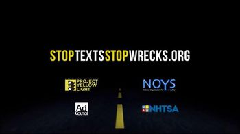 Stop the Texts, Stop the Wrecks TV Spot, 'Project Yellow Light: The Cost of Distracted Driving' - Thumbnail 10