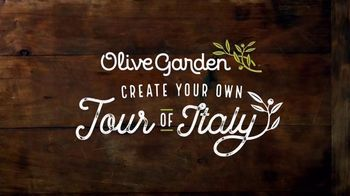 Olive Garden Create Your Own Tour of Italy TV Spot, 'It's Back!' - Thumbnail 2
