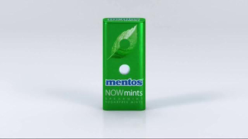 Mentos NOWMints TV Spot, 'Fresh, Flavorful & Smooth' - Thumbnail 1