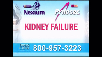 Davis & Crump, P.C. TV Spot, \'Prilosec and Nexium\'