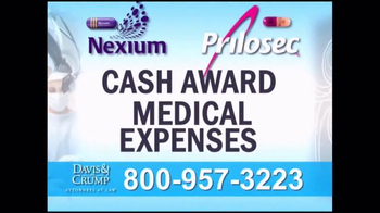 Davis & Crump, P.C. TV Spot, 'Prilosec and Nexium' - Thumbnail 4
