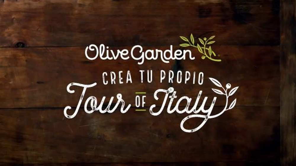 Olive Garden Crea Tu Propio Tour of Italy TV Commercial, '??Regres??!'