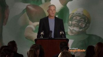 MicroTouch Tough Blade TV Spot, 'Press Conference' Featuring Brett Favre - 3242 commercial airings