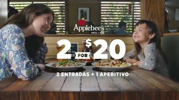 Applebee's 2 for $20 TV Spot, 'The Stylist' [Spanish] - 111 commercial airings