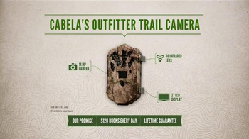 Cabela's TV Spot, 'Every Day Value Products: Outfitter Trail Camera' - Thumbnail 3