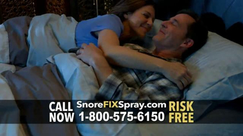 SnoreFIX TV Spot, 'The Ultimate in Snoring Relief' Featuring Lorenzo Lamas - Thumbnail 7