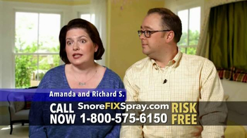 SnoreFIX TV Spot, 'The Ultimate in Snoring Relief' Featuring Lorenzo Lamas - Thumbnail 8