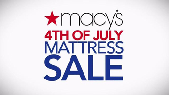 Macy's 4th of July Mattress Sale TV Spot, 'Last Days' Song by Mungo Jerry - Thumbnail 8