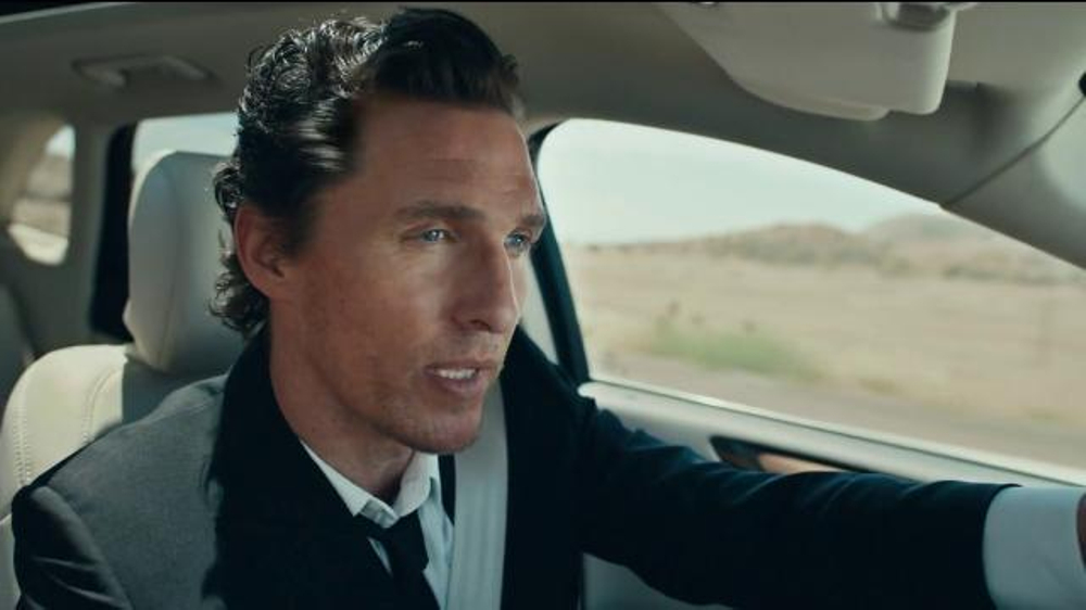 Lincoln Motor Company TV Commercial, 'I Just Liked It' Feat. Matthew McConaughey