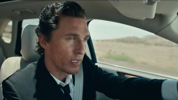 Lincoln Motor Company TV Spot, 'I Just Liked It' Feat. Matthew McConaughey - Thumbnail 3