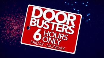 Sleepy's 4 Day Doorbuster Weekend TV Spot, 'Six Hours'