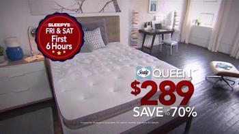 Sleepy's 4 Day Doorbuster Weekend TV Spot, 'Six Hours' - Thumbnail 2