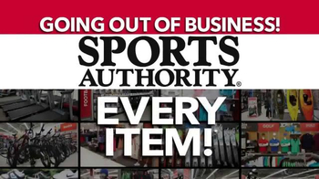 Sports Authority TV Spot, 'Biggest Liquidation Ever'