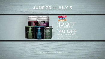 BEHR Paint Red White & Blue Savings TV Spot, 'Houseboat' - Thumbnail 10