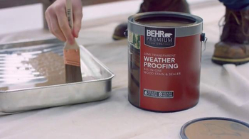BEHR Paint Red White & Blue Savings TV Spot, 'Houseboat' - Thumbnail 2