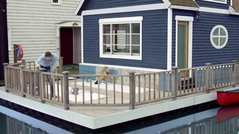 BEHR Paint Red White & Blue Savings TV Spot, 'Houseboat' - Thumbnail 3