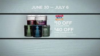 BEHR Paint Red White & Blue Savings TV Spot, 'Houseboat' - Thumbnail 9