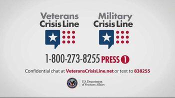 Veterans Crisis Line TV Spot, 'Power of One' - Thumbnail 10
