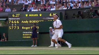 Rolex TV Spot, 'Roger Federer's Milestone Moment' - Thumbnail 3