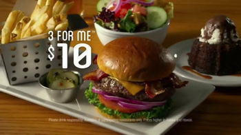 Chili's 3 For Me Burgers TV Spot, 'Good Time' Song by ZZ Top - Thumbnail 3