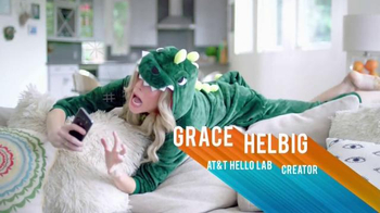AT&T Hello Lab TV Spot, 'Grace Helbig's Connected Life' - Thumbnail 7