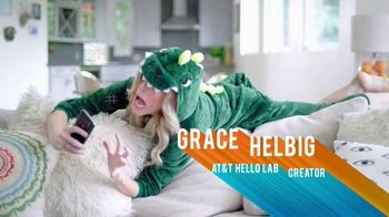 AT&T Hello Lab TV Spot, 'Grace Helbig's Connected Life' - 35 commercial airings
