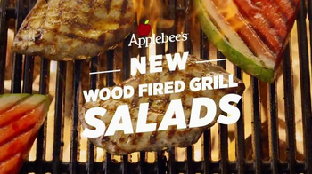 Applebee's Wood Fired Grill Salads TV Spot, 'Bottled'
