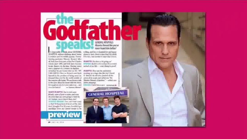 ABC Soaps in Depth TV Commercial, 'General Hospital: Maurice Tells All'