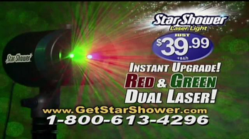 Star Shower Laser Light TV Spot, 'Christmas Lights' - Thumbnail 10