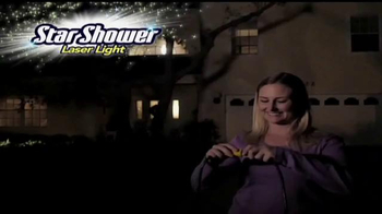 Star Shower Laser Light TV Spot, 'Christmas Lights' - Thumbnail 2