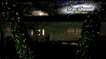 Star Shower Laser Light TV Spot, 'Christmas Lights' - Thumbnail 3