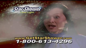 Star Shower Laser Light TV Spot, 'Christmas Lights' - Thumbnail 7