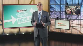 Sport Clips TV Spot, 'Instant Replay' Featuring Scott Van Pelt - Thumbnail 1