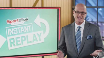 Sport Clips TV Spot, 'Instant Replay' Featuring Scott Van Pelt