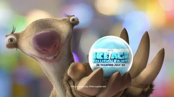Chuck E. Cheese's TV Spot, 'Ice Age: Collision Course' - 1731 commercial airings