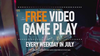 Dave and Buster's July Weekday Pass TV Spot, 'All-You-Can-Play Video Games' - Thumbnail 2
