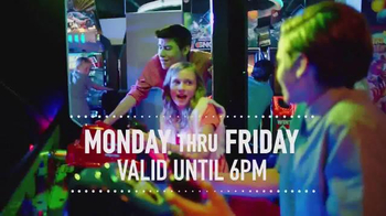 Dave and Buster's July Weekday Pass TV Spot, 'All-You-Can-Play Video Games' - Thumbnail 6