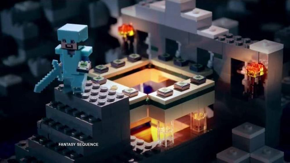 LEGO Minecraft TV Comm...