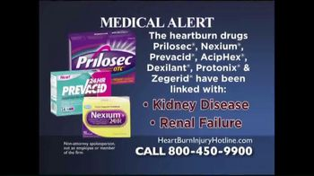 Weitz and Luxenberg TV Spot, 'Heartburn Drugs'