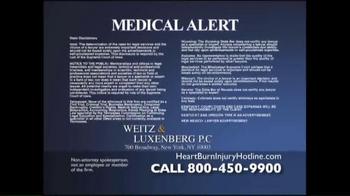 Weitz and Luxenberg TV Spot, 'Heartburn Drugs' - Thumbnail 4